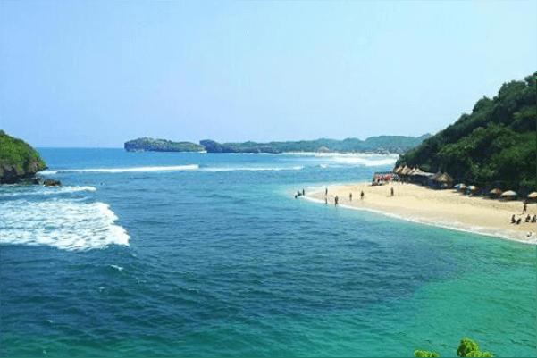 Rute pantai ngandong