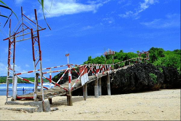 lokasi pantai sarangan