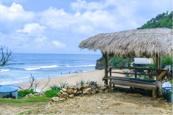 lokasi pantai seruni
