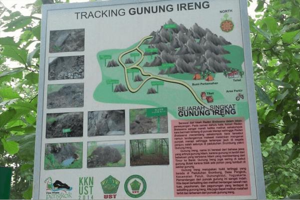 tracking gunung ireng