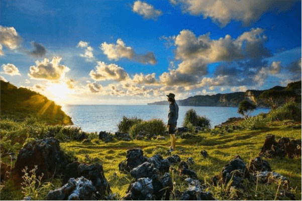 lokasi pantai kesirat