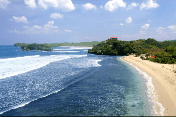 lokasi pantai sundak