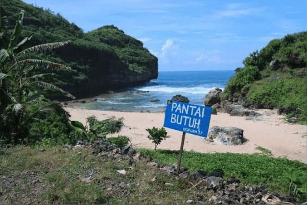 rute pantai butuh